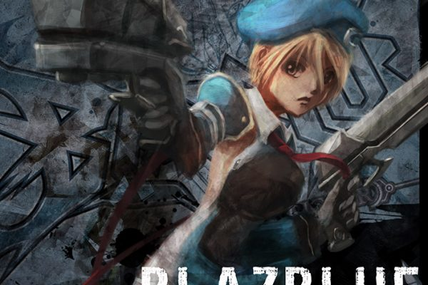 Poster/Cover for the EU release of game BlazBlue